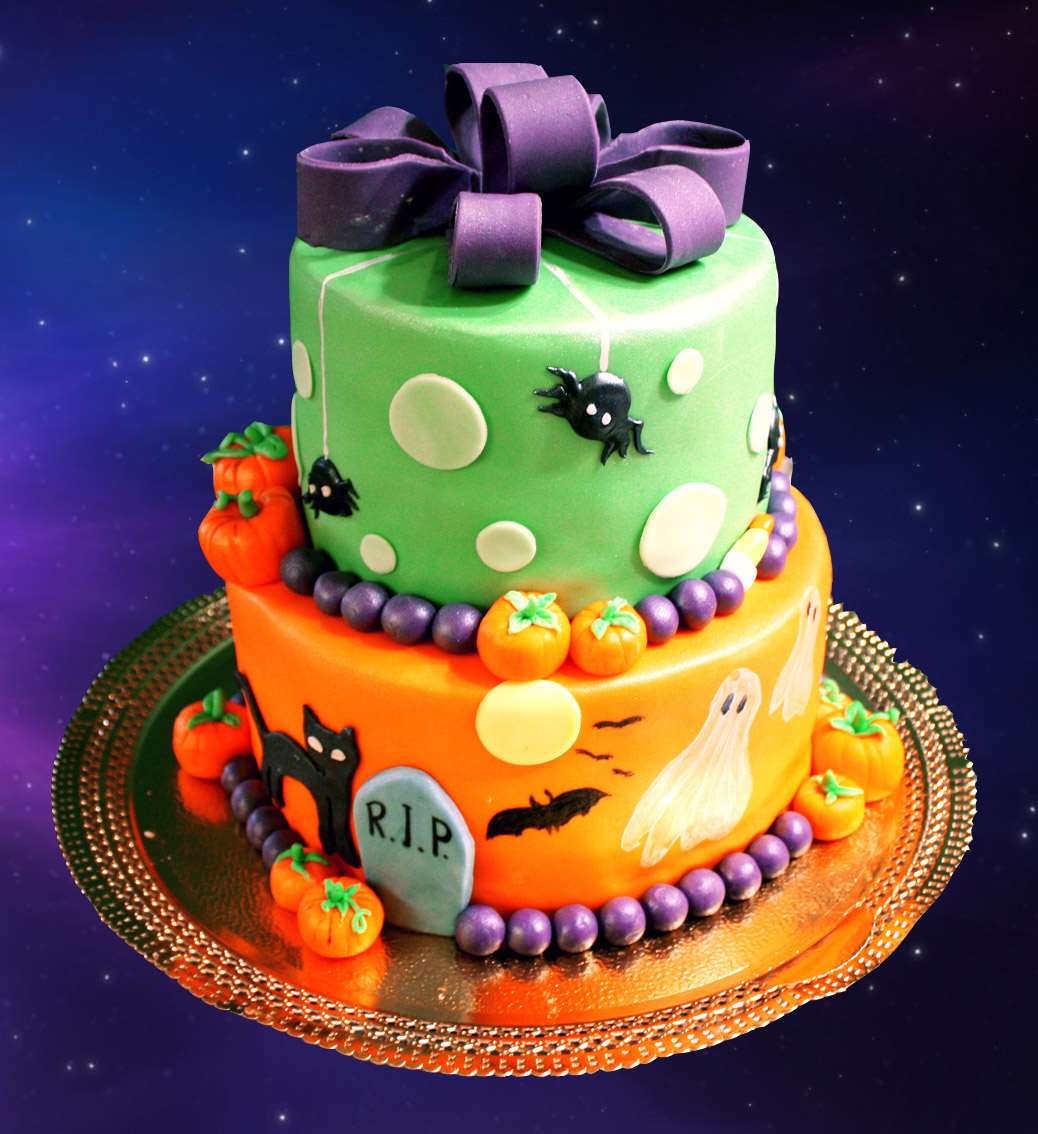 Birthday Cake Decoration Images : Halloween Cakes   Decoration Ideas Little Birthday Cakes