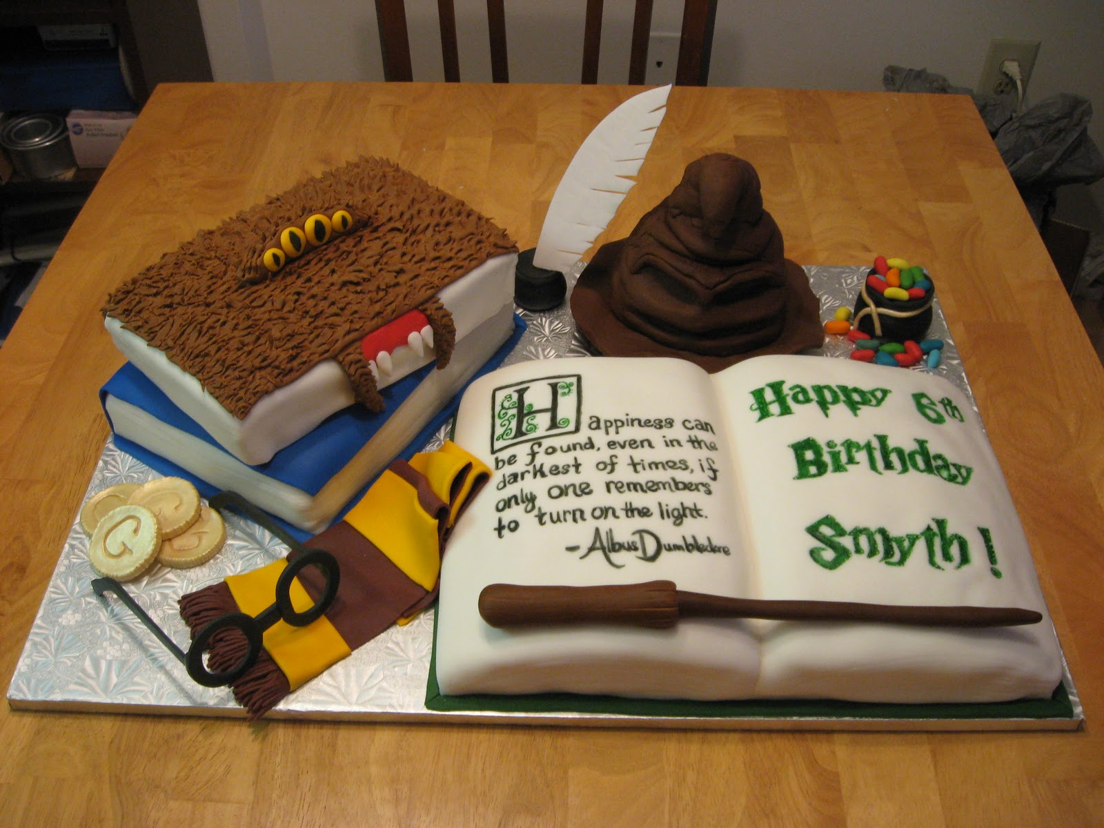 Harry Potter Cakes Decoration Ideas Little Birthday Cakes