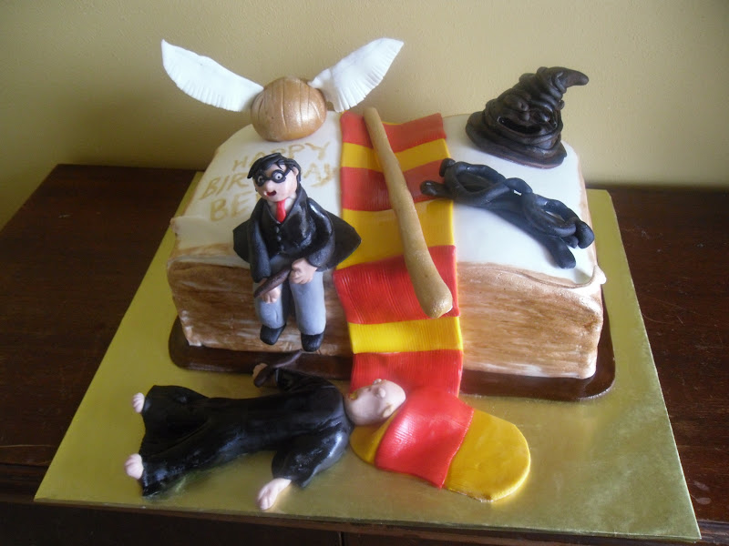 Harry Potter Cakes Decoration Ideas