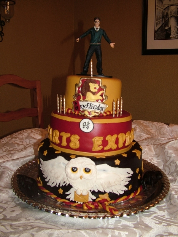 harry potter cake decoration