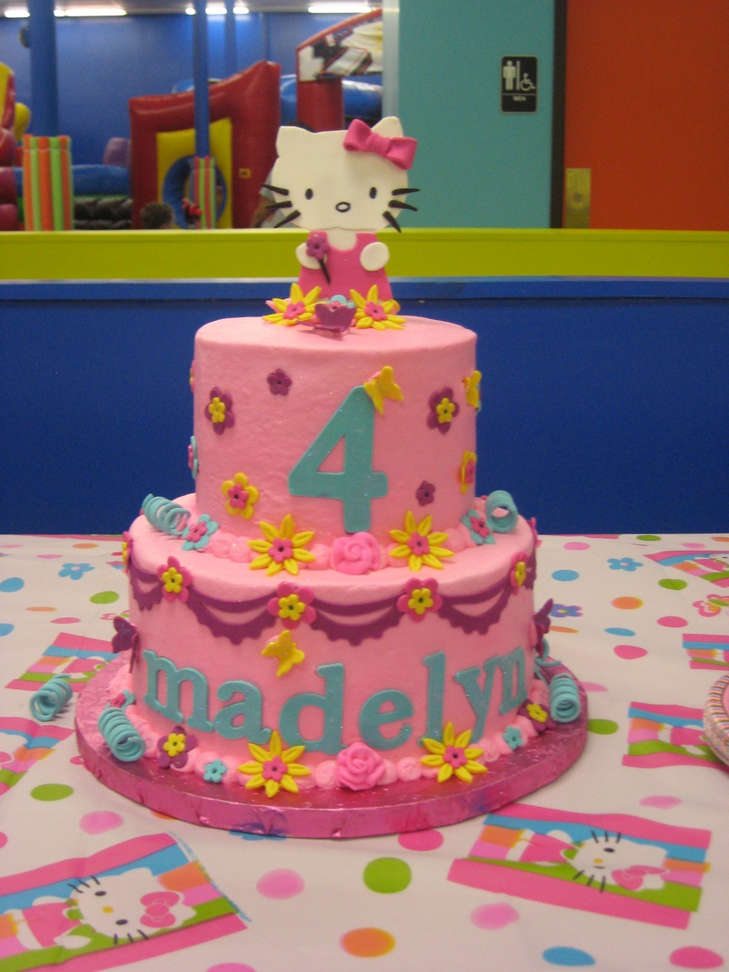 Hello Kitty Cake Design Ideas : Hello Kitty Cakes   Decoration Ideas Little Birthday Cakes