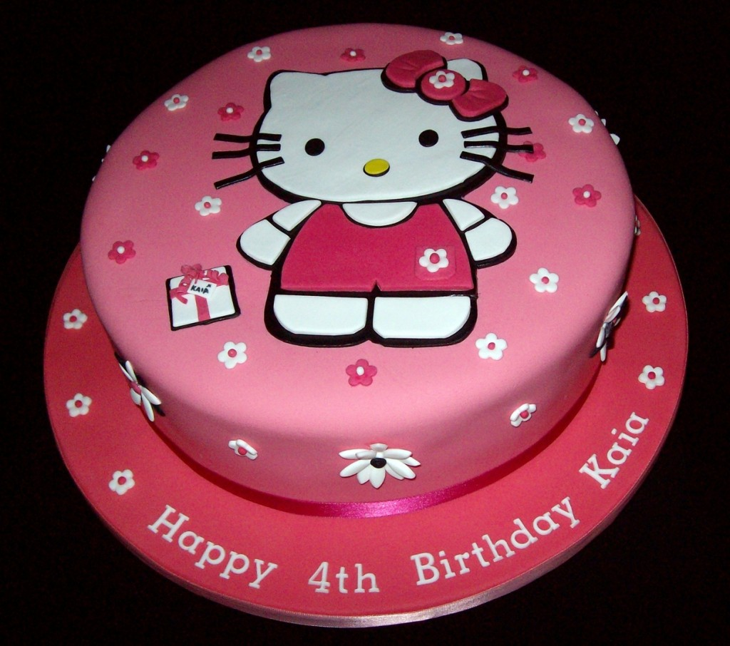 Here Is A Collection Of Hello Kitty Cakes That You Will