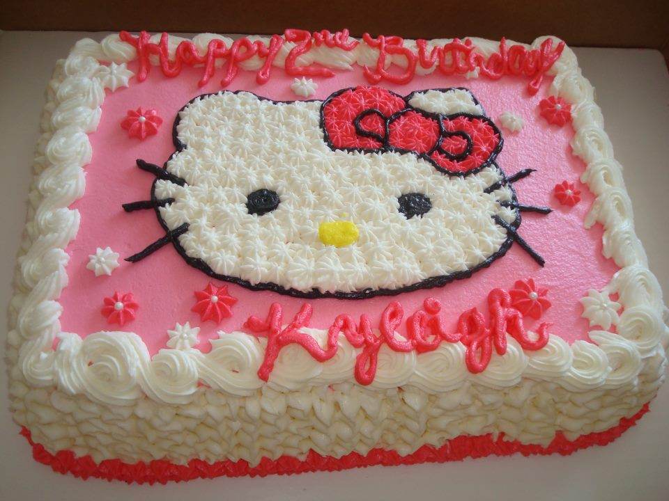 Cake Designs Of Hello Kitty : Hello Kitty Cakes   Decoration Ideas Little Birthday Cakes