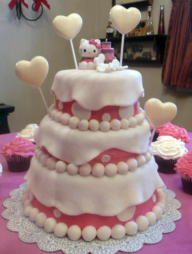 Hello Kitty Cake Template
