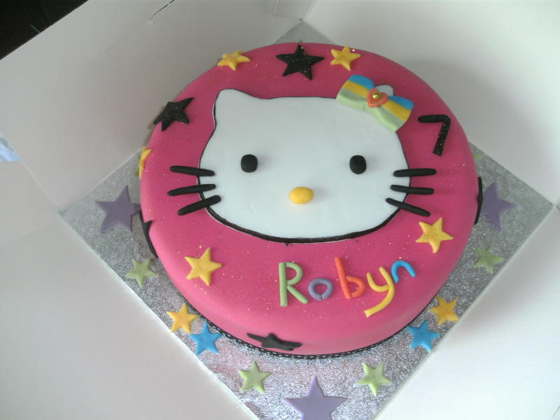 Hello Kitty Images For Cakes