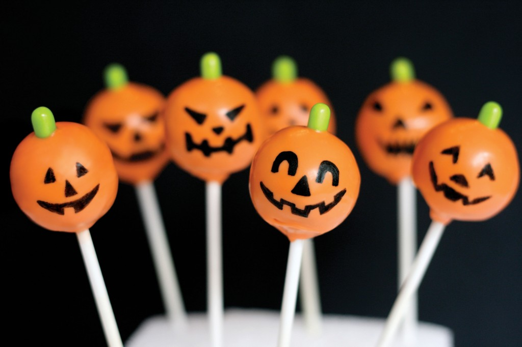 How To Make Halloween Cake Pops