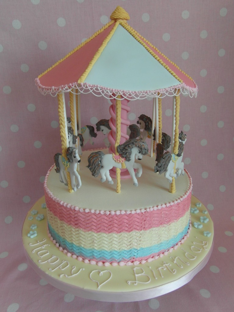 Images of Carousel Cake
