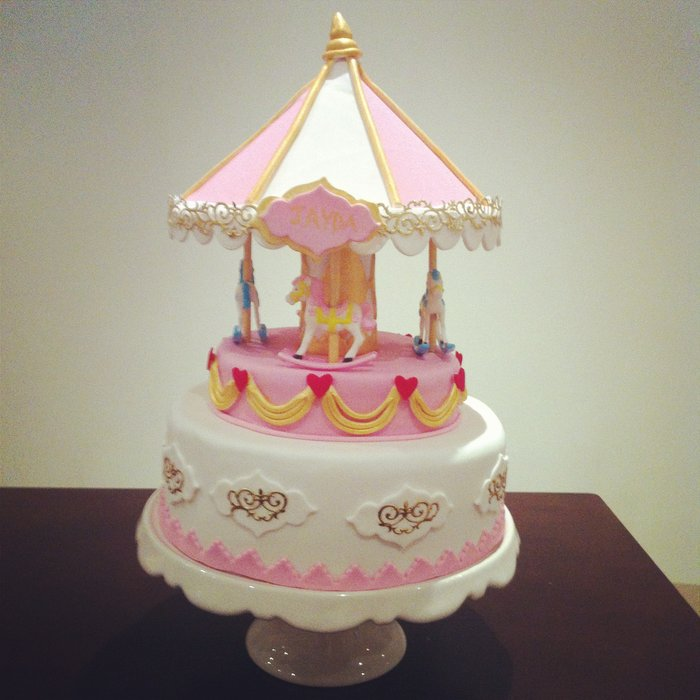 Images of Carousel Cakes