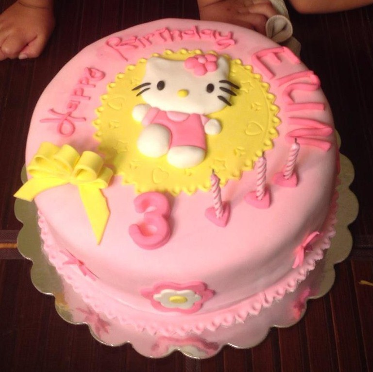 Images of Hello Kitty Cakes