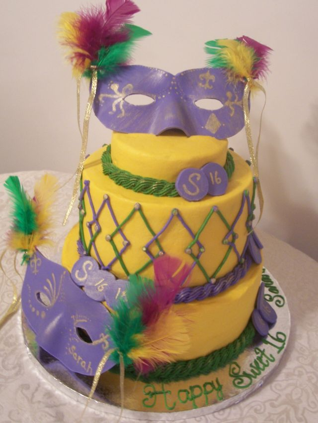 Mardi Gras Cakes – Decoration Ideas | Little Birthday Cakes