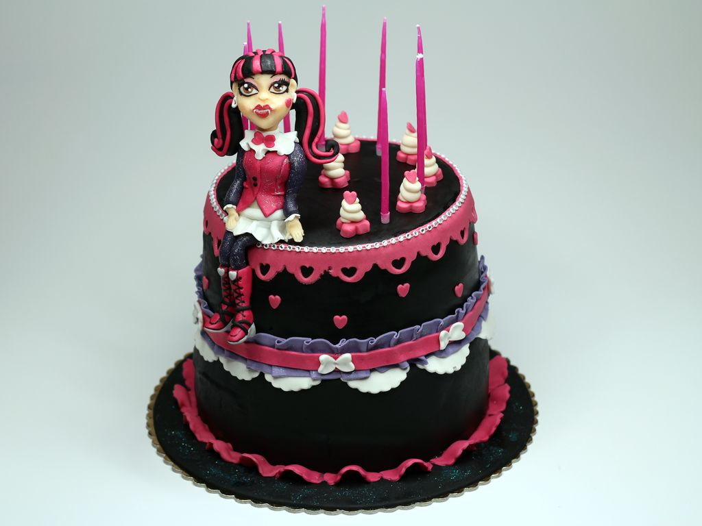 Images of Monster High Cakes