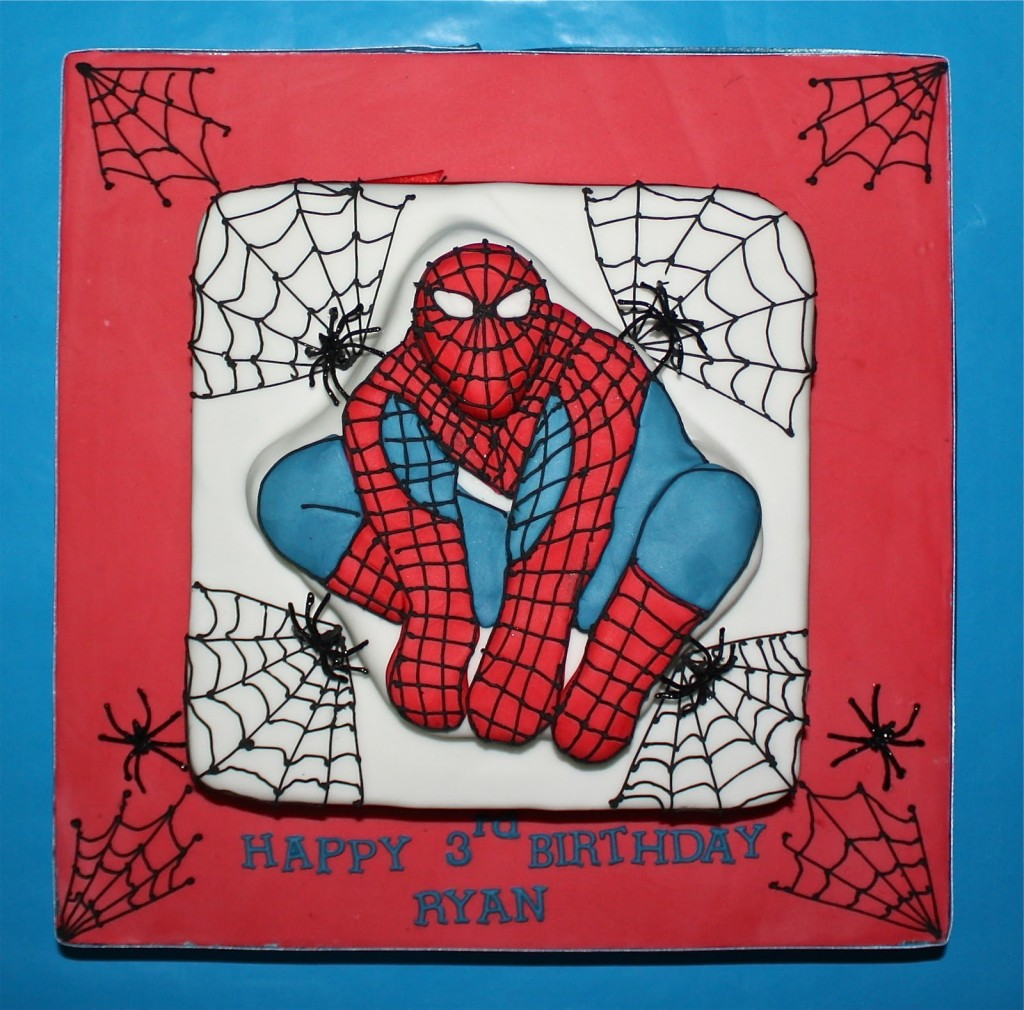 Images of Spiderman Cakes