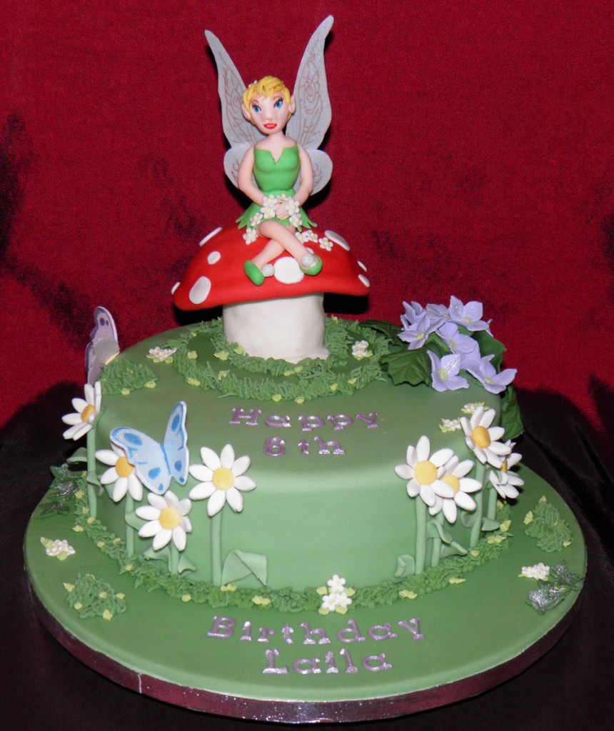 Images of Tinkerbell Cakes