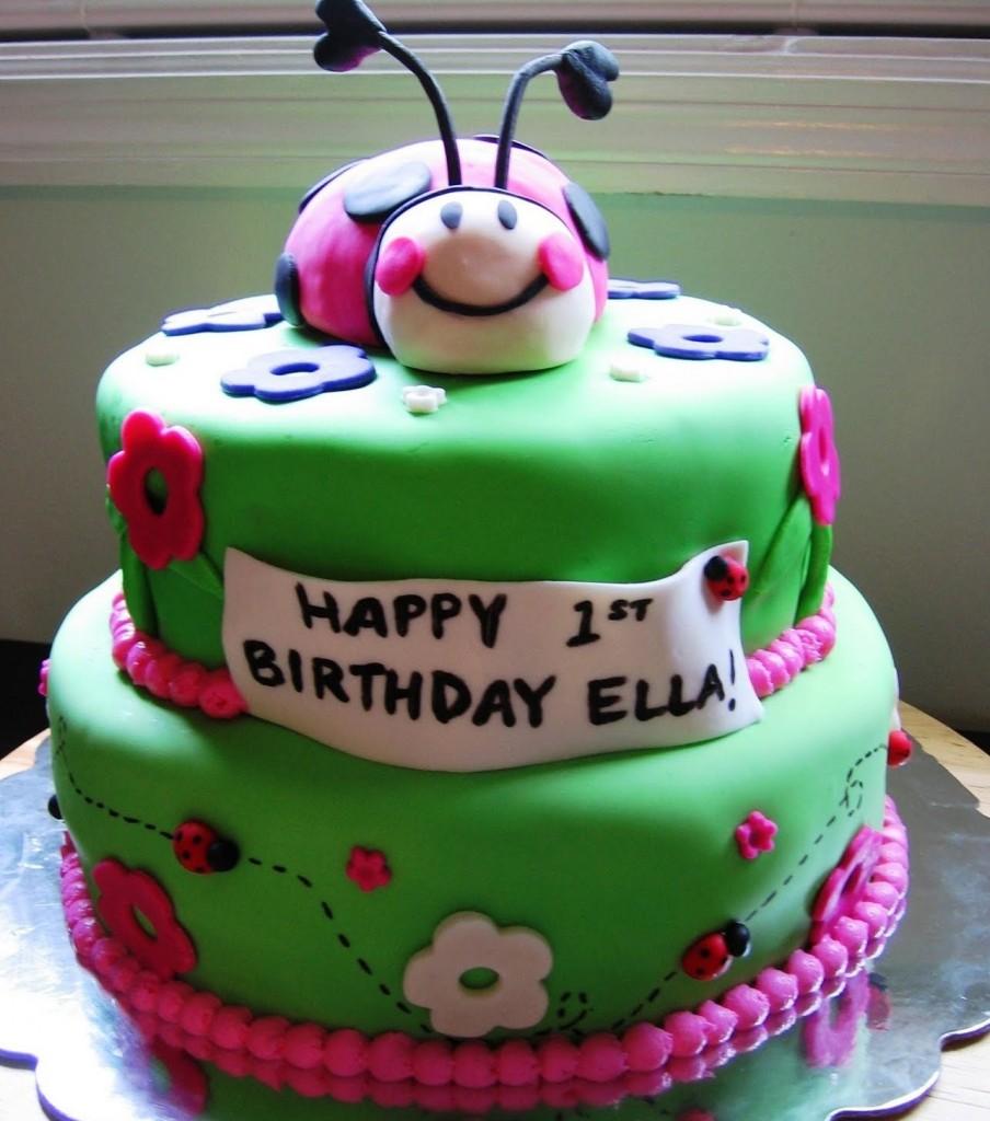 Ladybug Cake Decorations