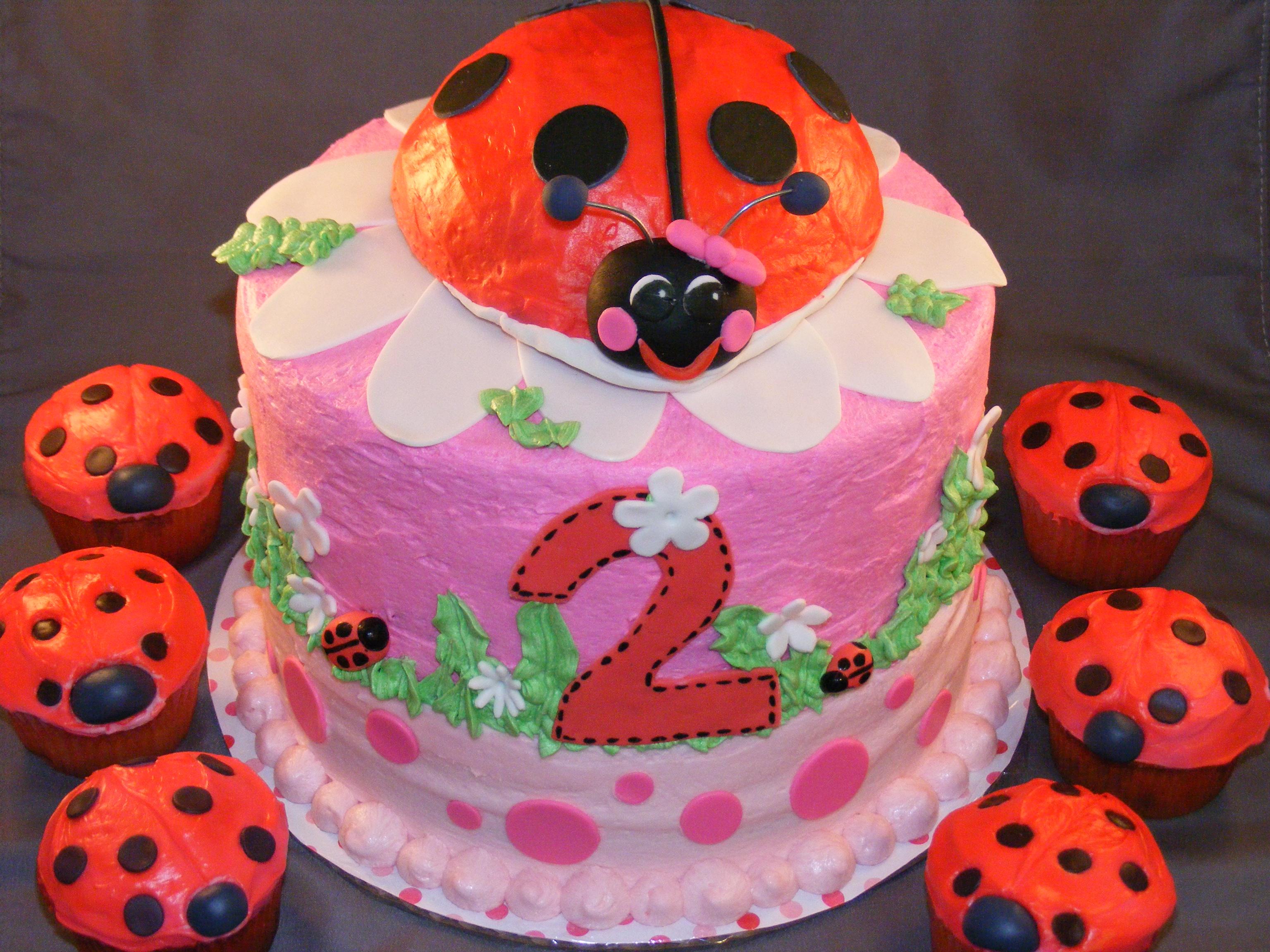 Ladybug Cakes – Decoration Ideas | Little Birthday Cakes