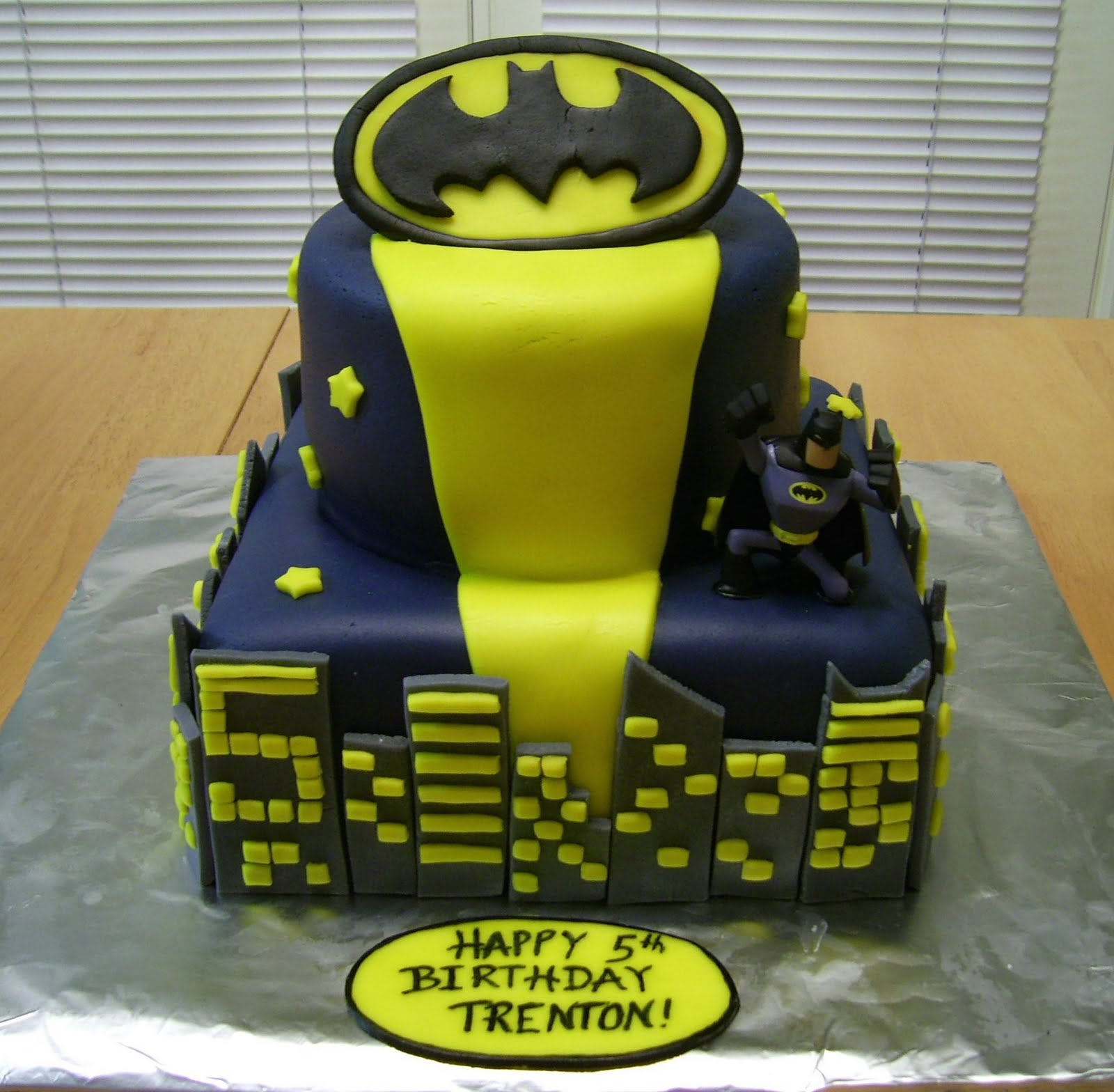 Lego Batman Birthday Cake