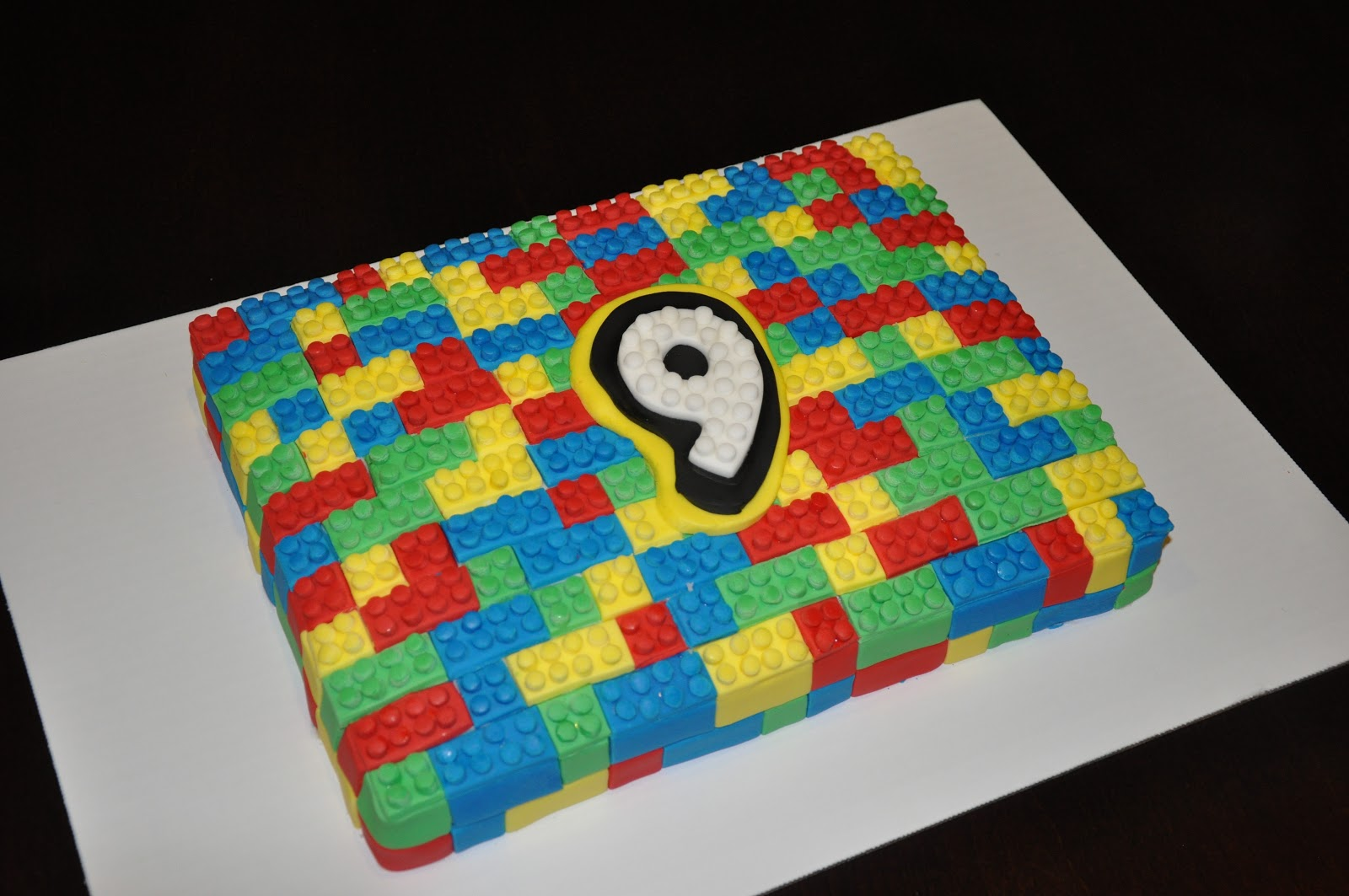 Cake Decorated With Bunting : Lego Cakes   Decoration Ideas Little Birthday Cakes