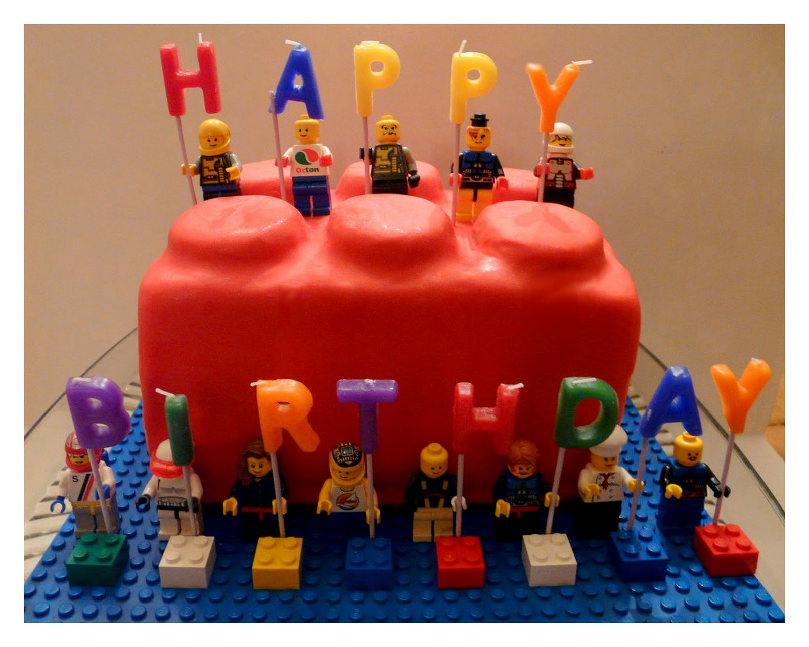 Lego cakes decoration ideas little birthday cakes for Decoration lego