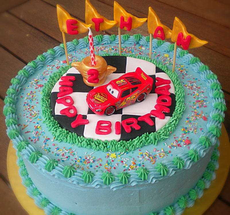 Lightning Mcqueen Birthday Cake Ideas Image Inspiration of Cake