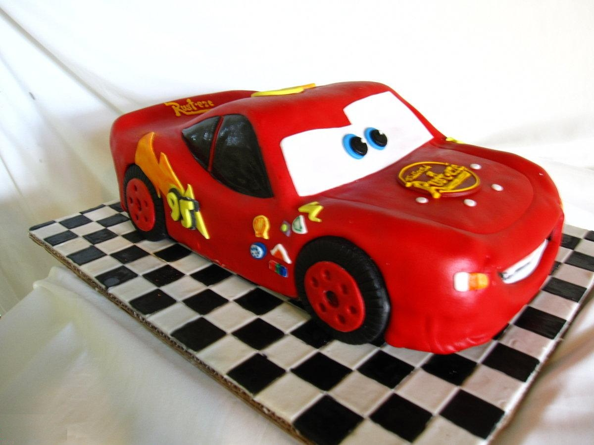 Lightning mcqueen party decorations - Lightning Mcqueen Cakes Decoration Ideas Little