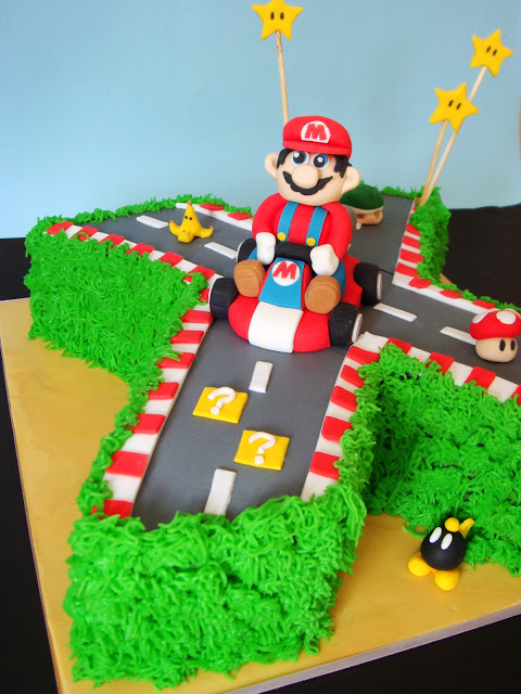 Mario Birthday Cakes