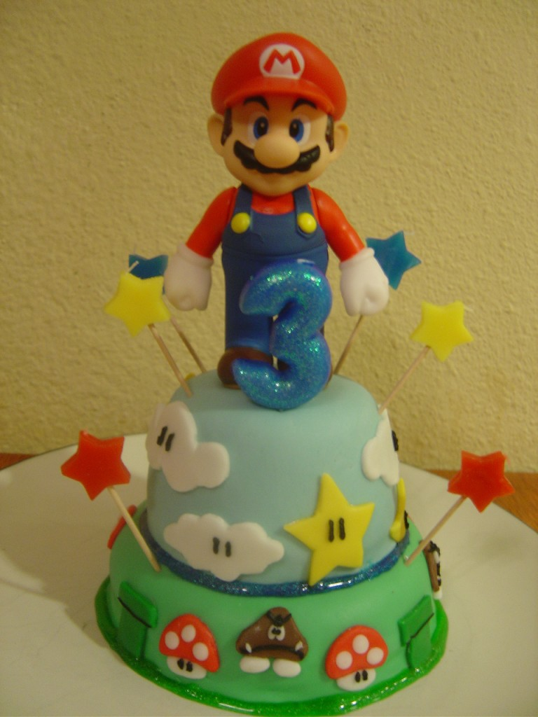 Mario Bro Cake