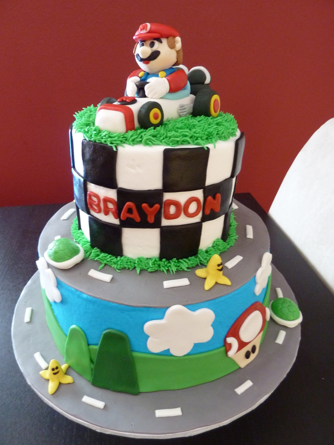 mario cakes decoration ideas little birthday cakes. Black Bedroom Furniture Sets. Home Design Ideas