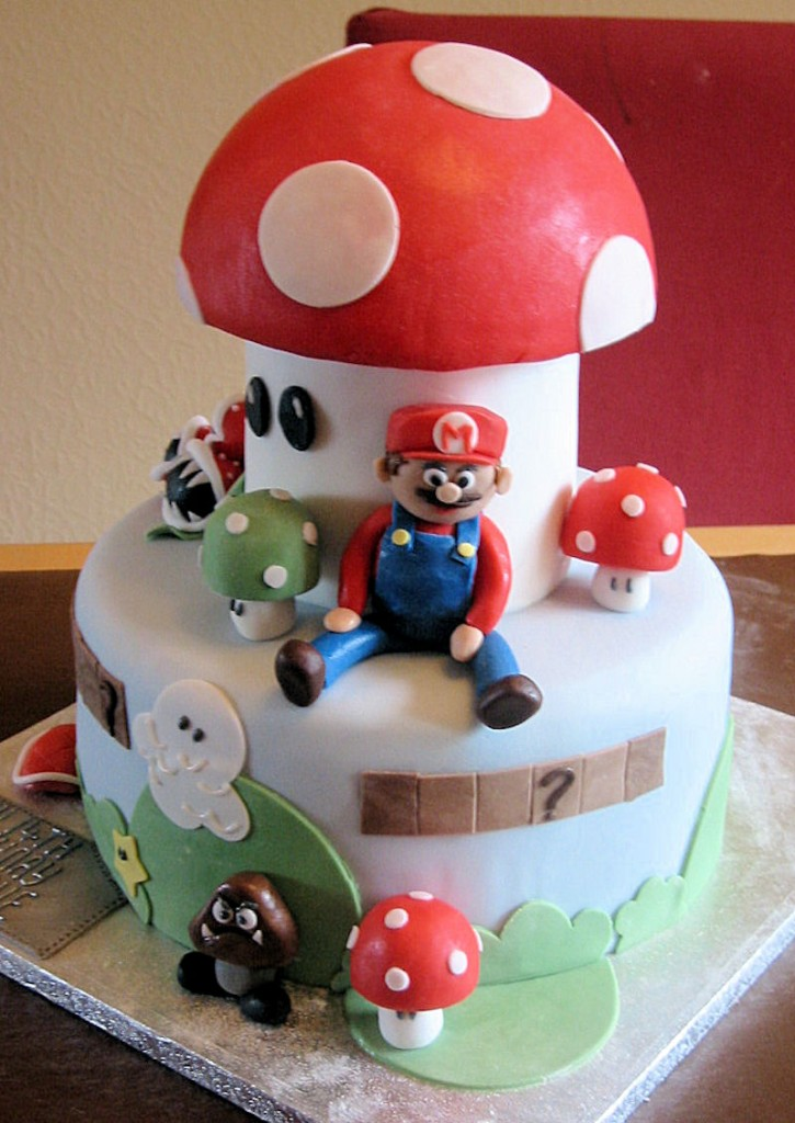 Mario Brothers Cake Topper