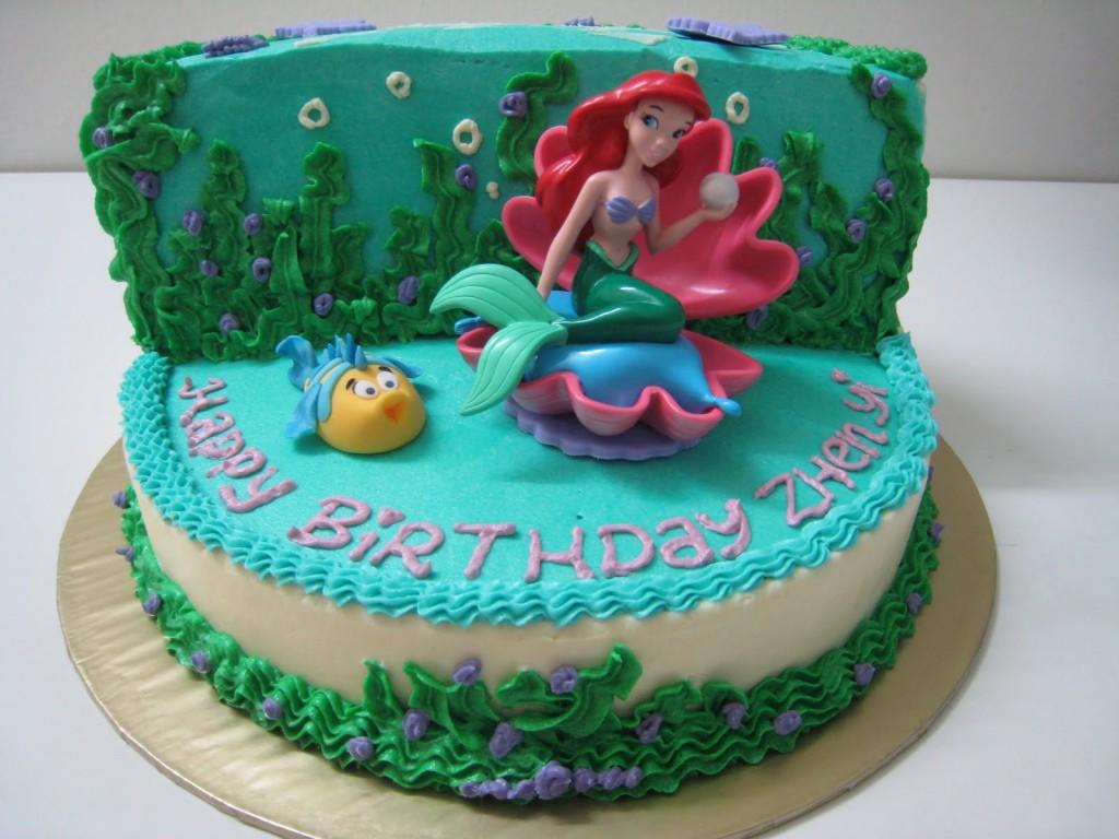Mermaid Cakes Decoration Ideas Little Birthday Cakes