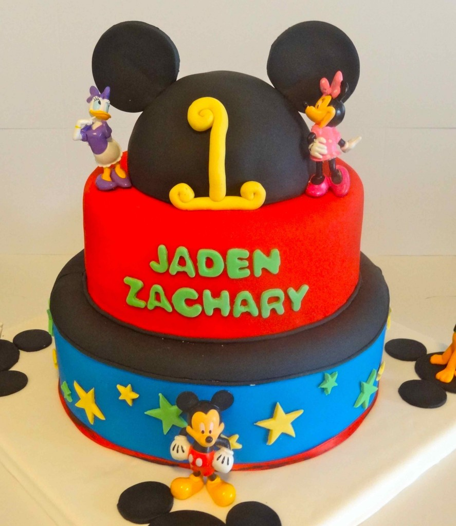 Mickey Mouse Birthday Cake Pictures