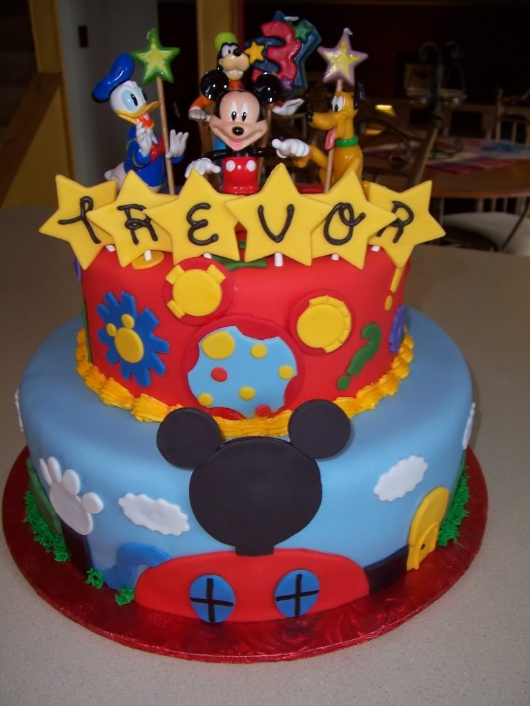 Mickey Mouse Cake Designs