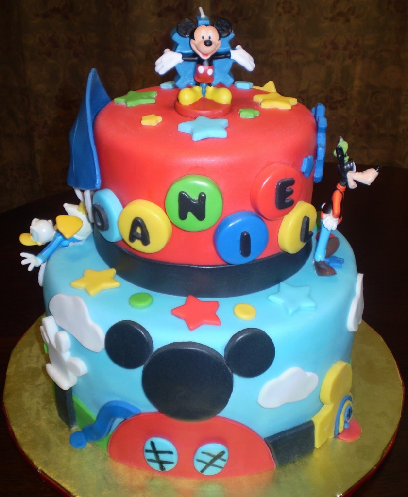 Mickey Mouse Cake Decoration Ideas Little Birthday Cakes