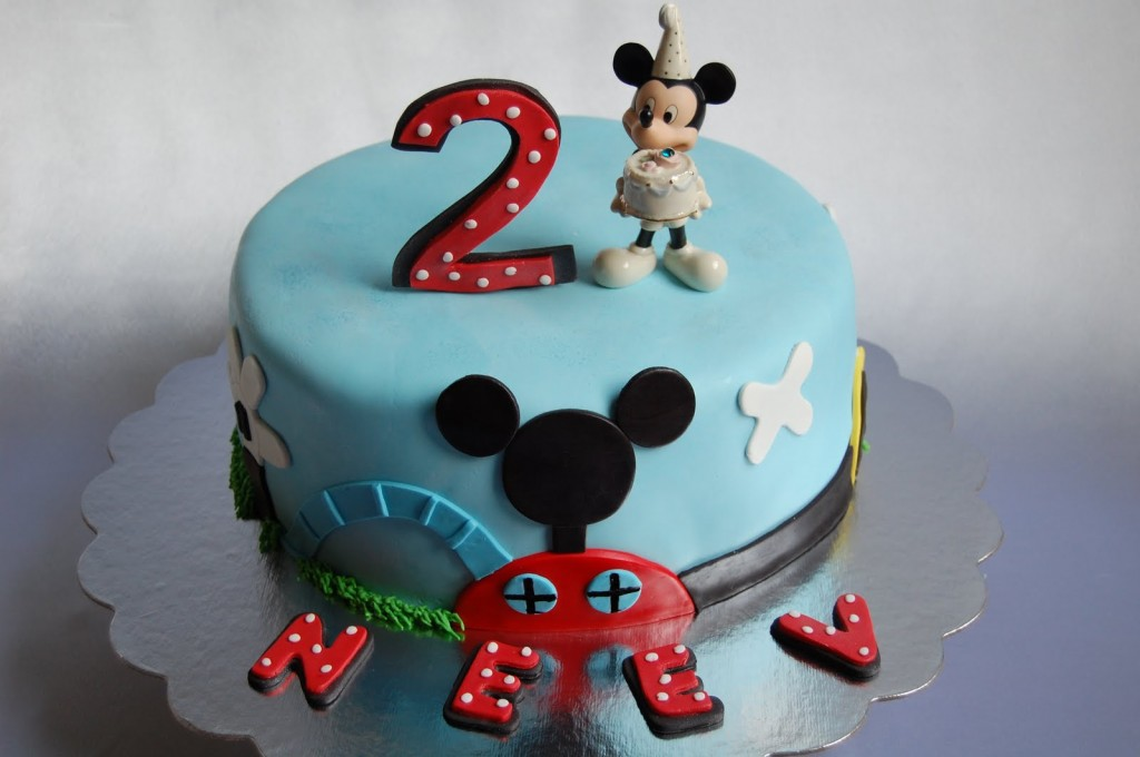 Mickey Mouse Cake Images