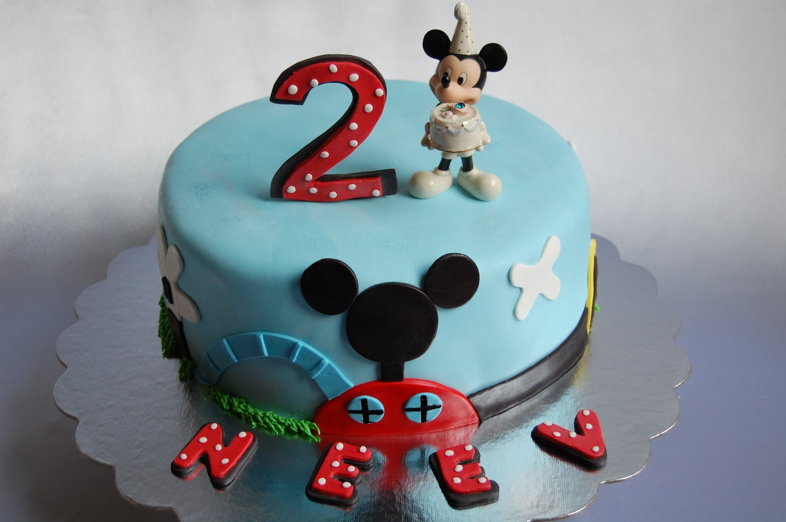 Cake Images Of Mickey Mouse : Mickey Mouse Cake   Decoration Ideas Little Birthday Cakes