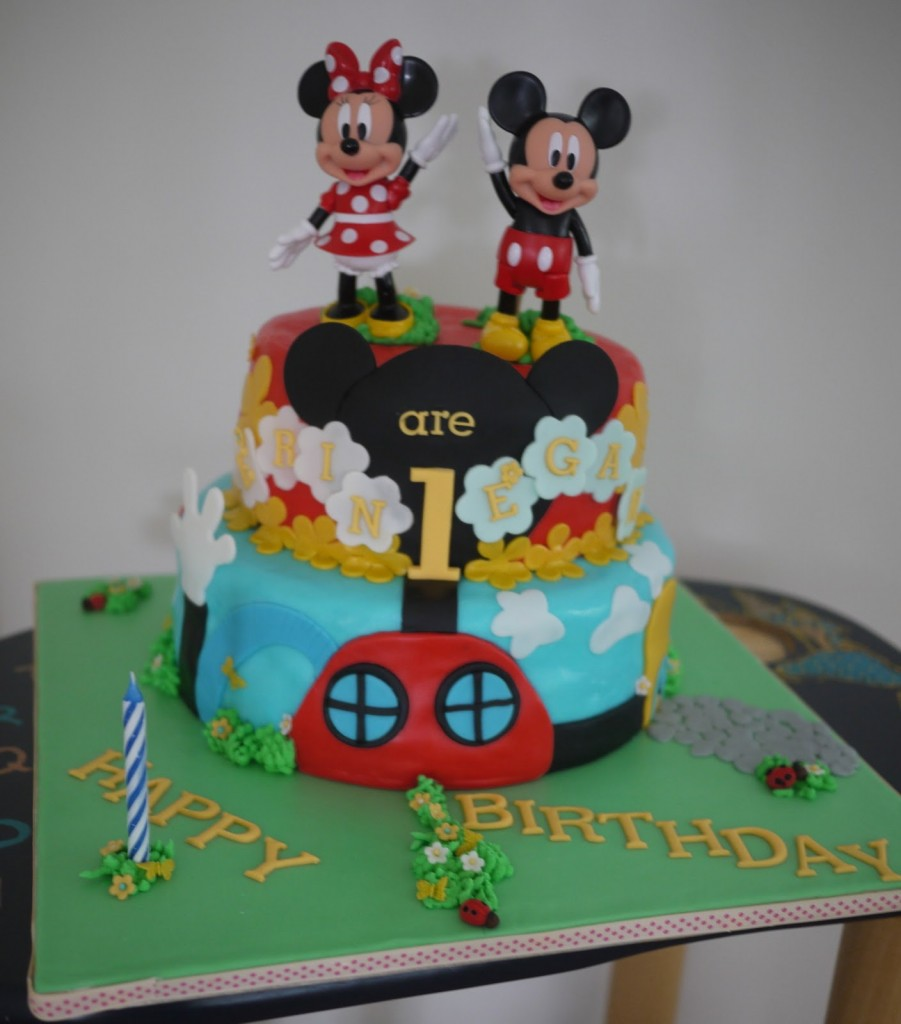 Mickey Mouse Cakes Pictures