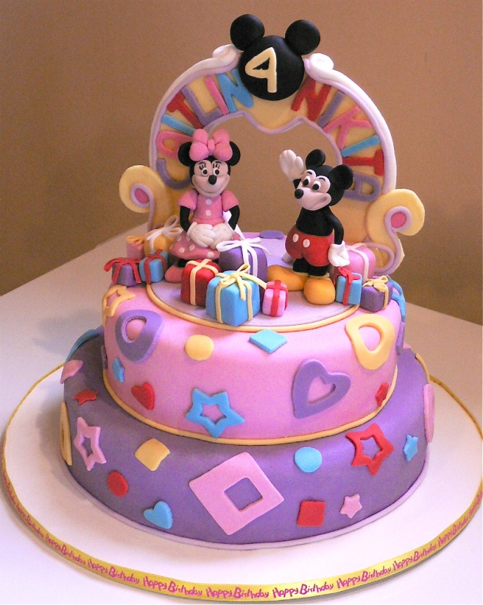 Minnie Mouse Cakes Decoration Ideas Little Birthday Cakes Stunning Minnie Mouse Designer Cake Decorating Kit