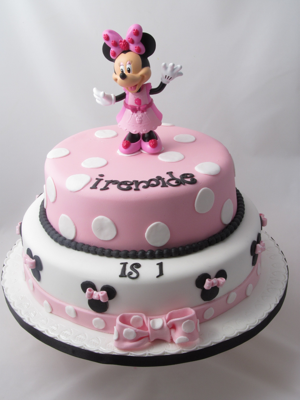 How Ro Make Minnie Mouse Cake Pops