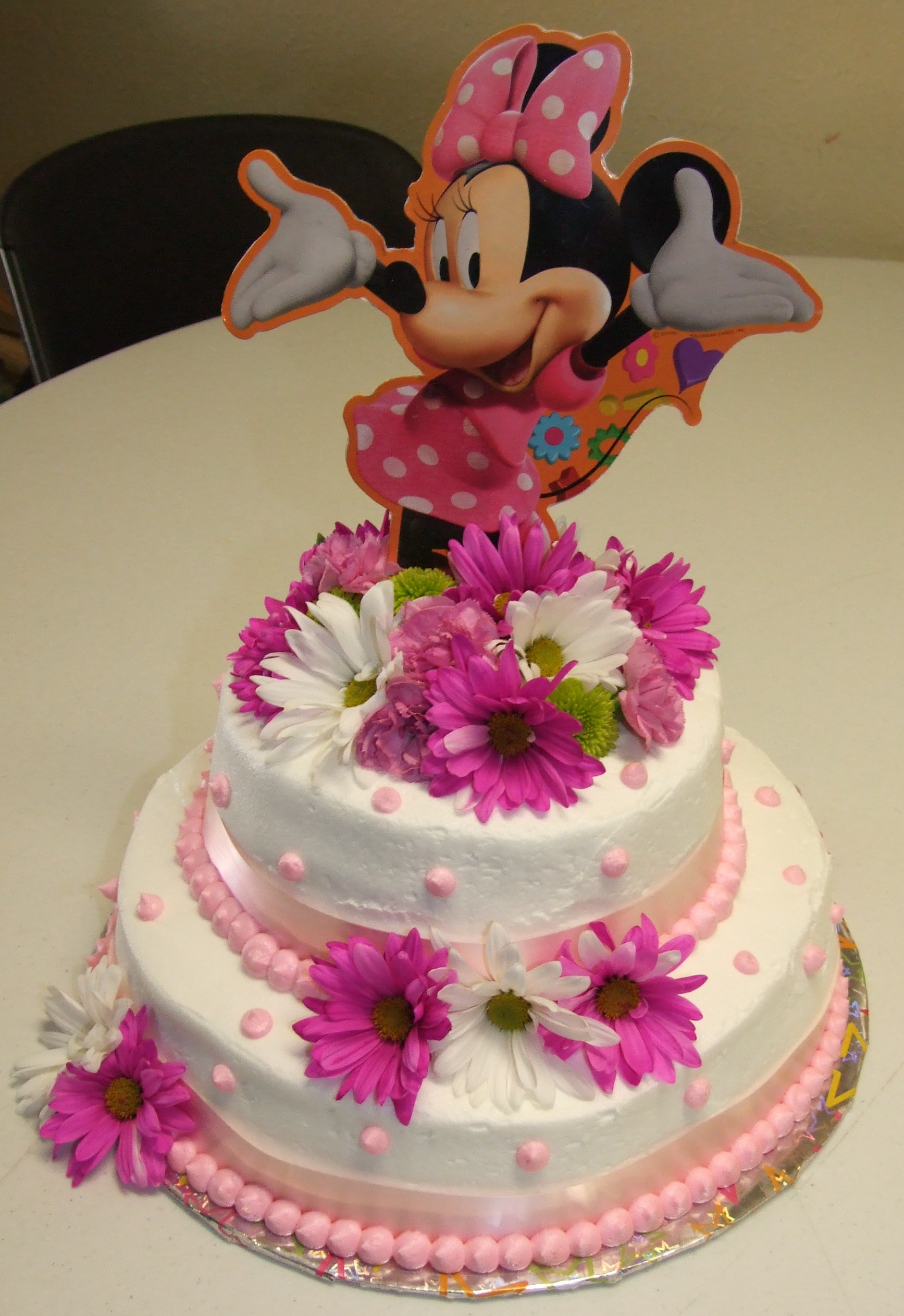 Birthday Cake Ideas Minnie Mouse : Minnie Mouse Cakes   Decoration Ideas Little Birthday Cakes