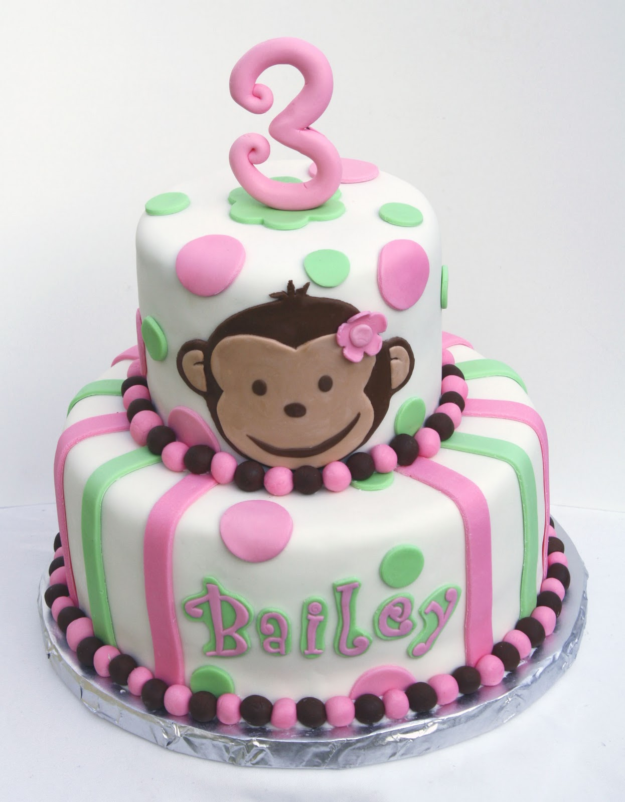 Monkey Cakes – Decoration Ideas | Little Birthday Cakes