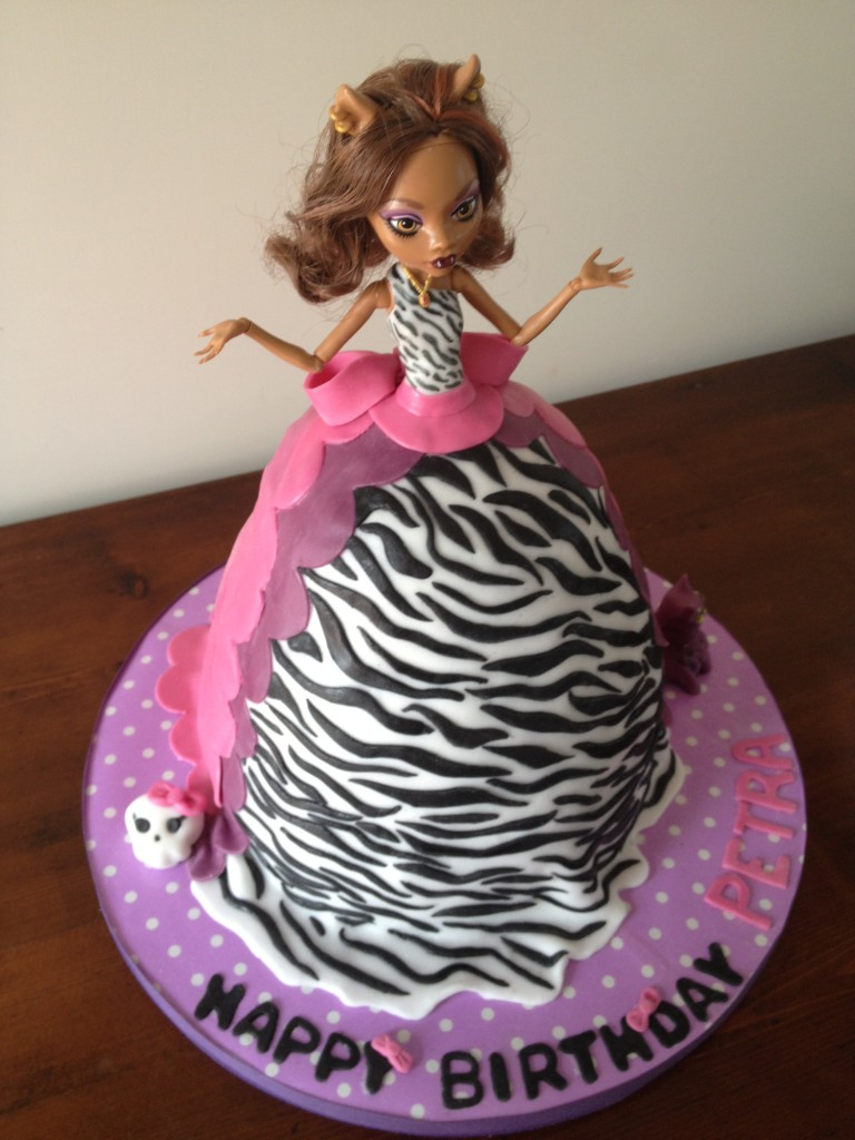 Monster High Birthday Cake Decorations