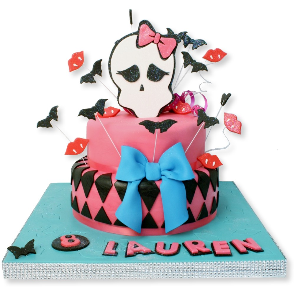 Monster High Cake Designs