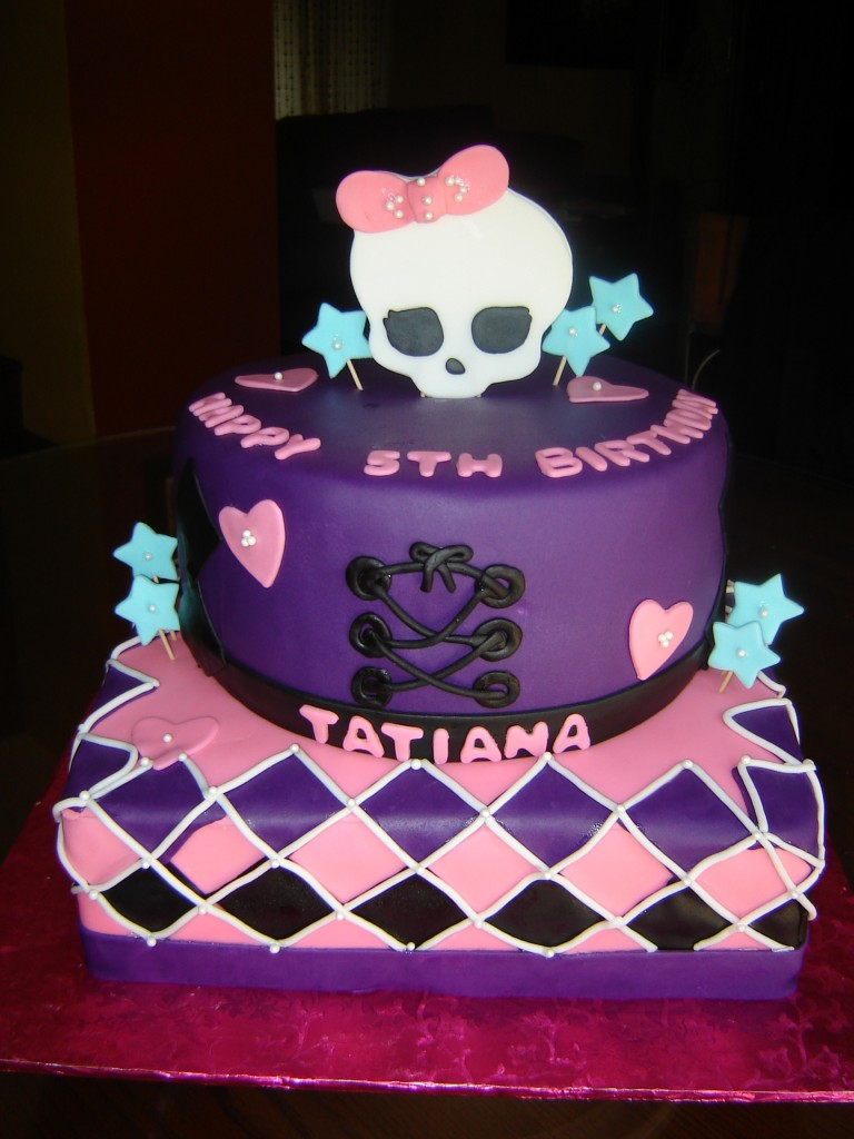 Monster High Cake Ideas