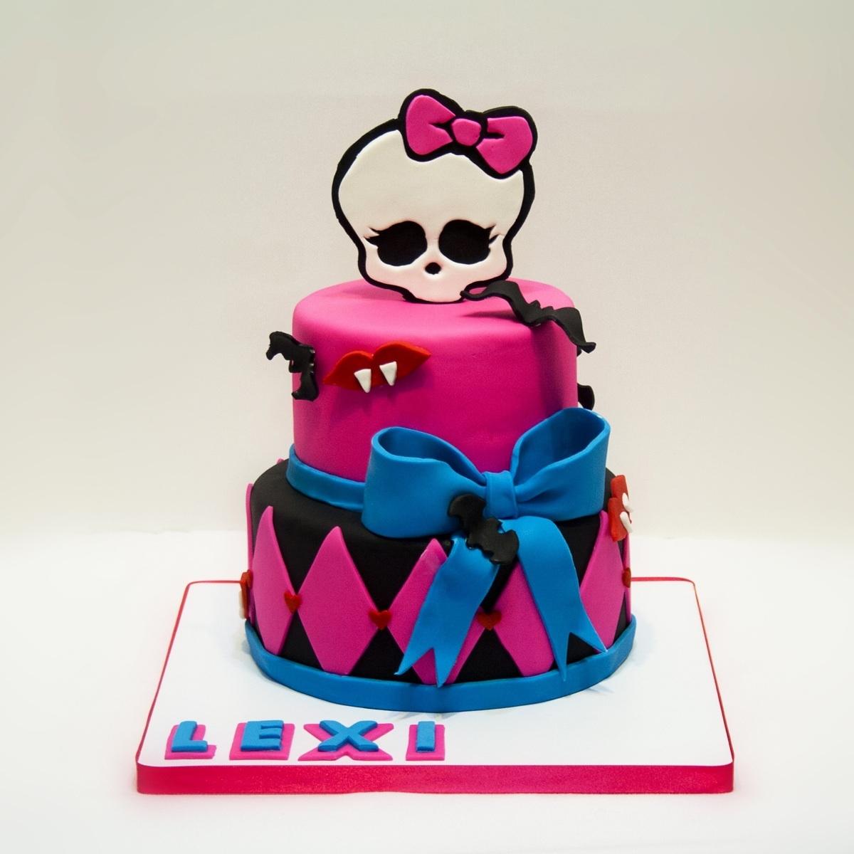 Monster High Fondant Cake Toppers