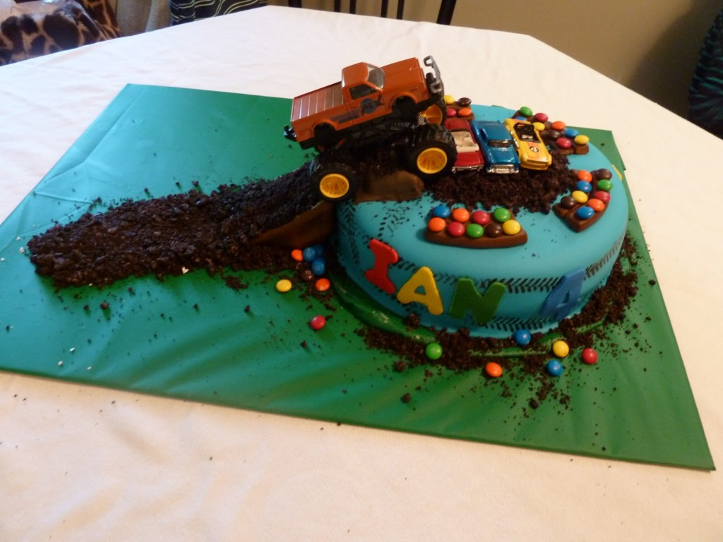 Monster Truck Cake Ideas
