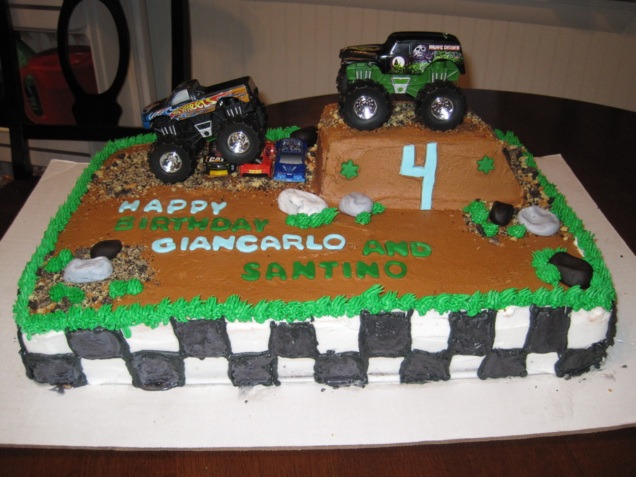 Monster Truck Cake Photos