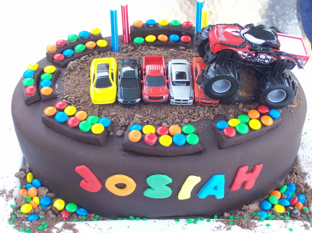 Monster Trucks Cakes