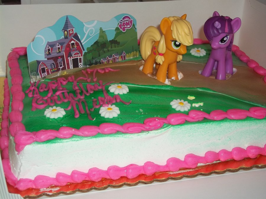 My Little Pony Cakes Decoration Ideas Little Birthday Cakes
