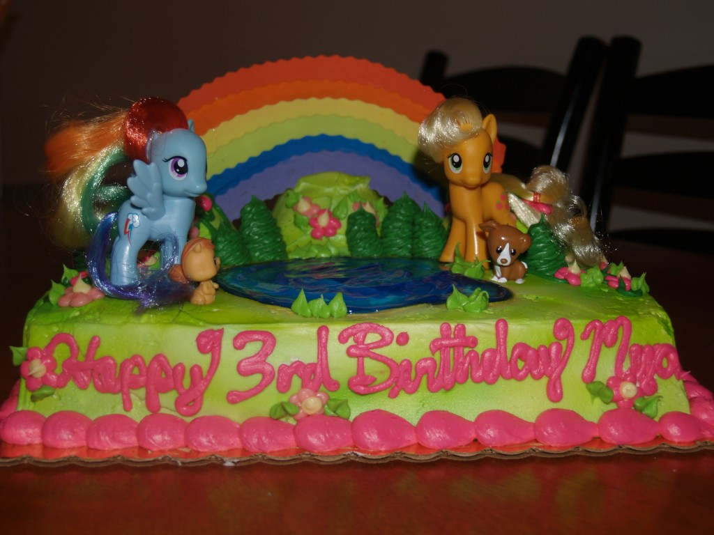 My Little Pony Cakes Pictures