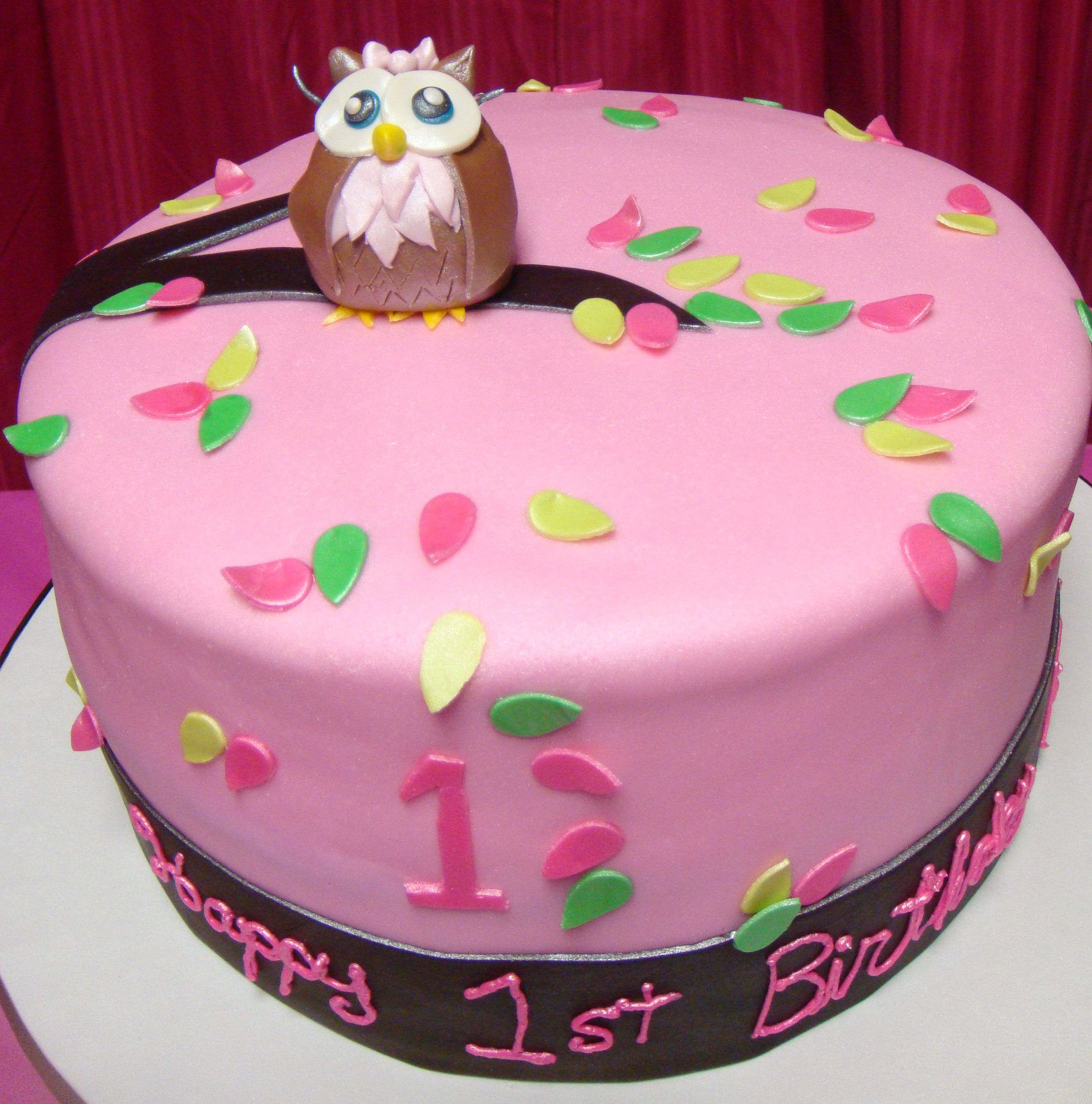 owl cake images