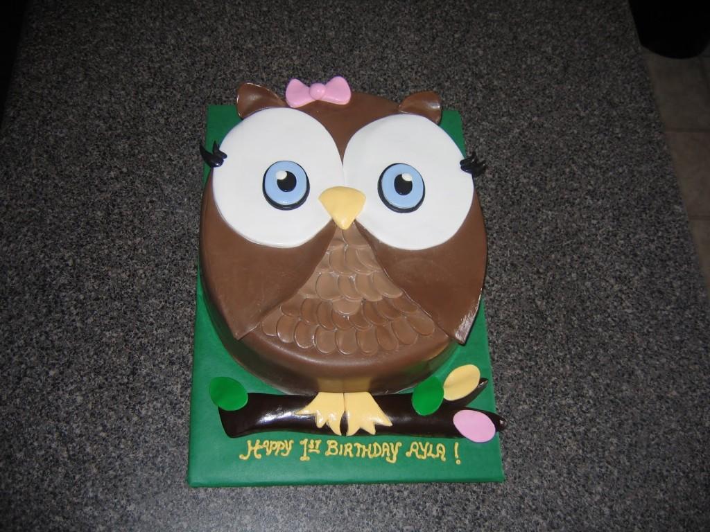 Owl Cake Pan
